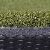 T Turf backed golf matt